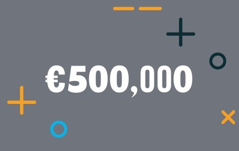 We've Raised over €500,000